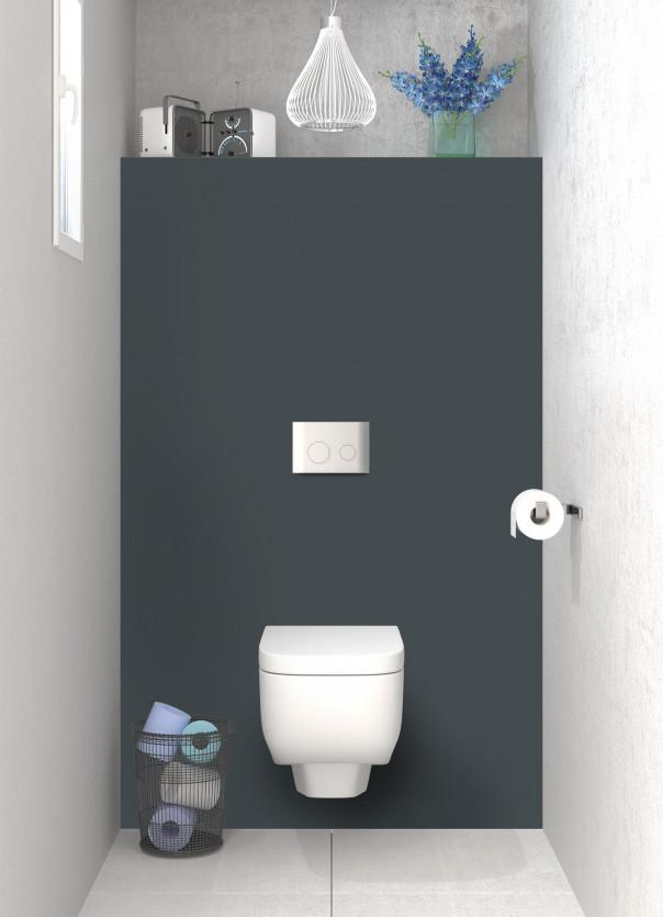 Panneau WC Gris Carbone