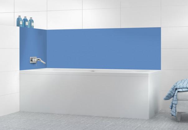 Panneau de bain Bleu Lavande