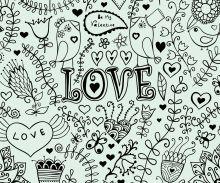 Crédence Love illustration