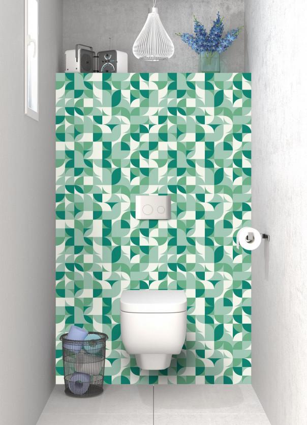 Panneau WC Disco Vert