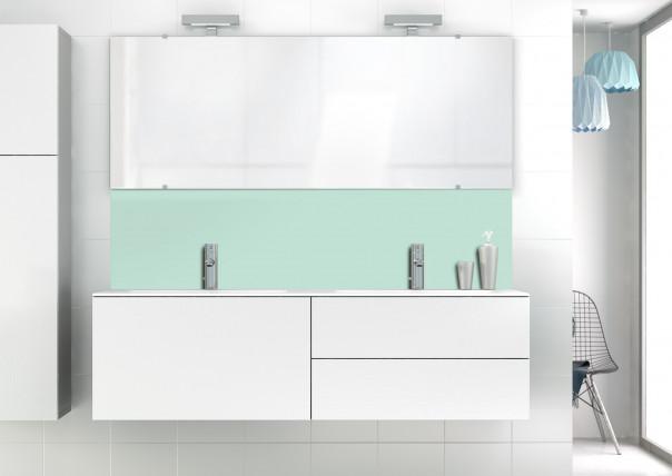 Panneau vasque Vert Pastel