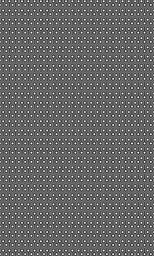 Crédence Hexagones
