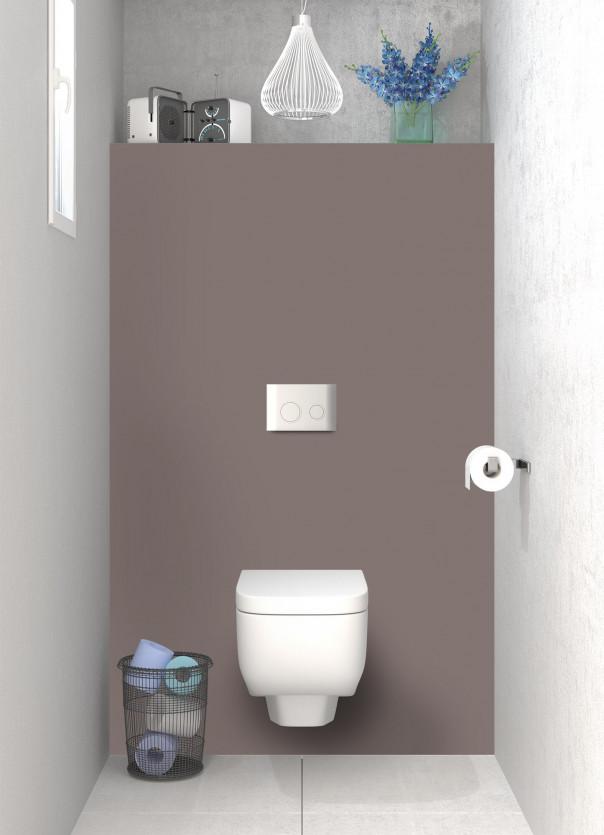 Panneau WC Taupe
