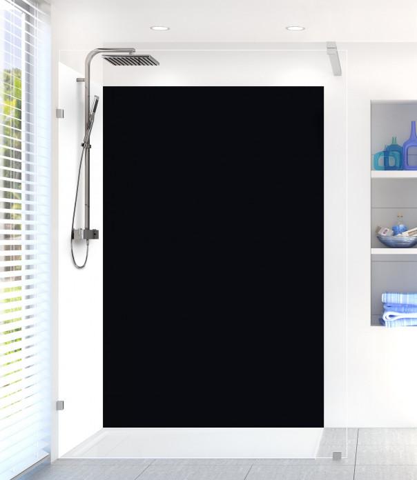 Panneau de douche Noir