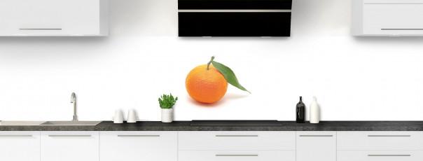 Crédence de cuisine Clémentine panoramique