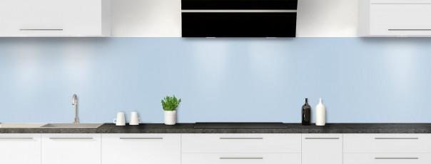 Crédence de cuisine Bleu azur panoramique