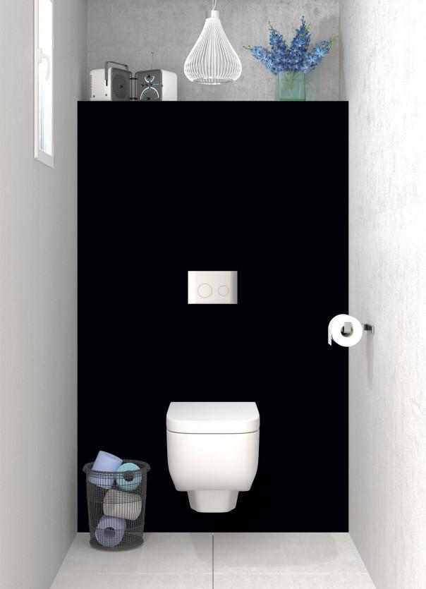 Panneau WC Noir