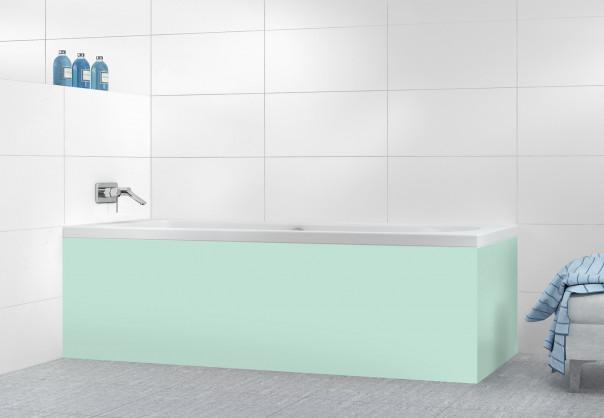 Panneau tablier de bain Vert Pastel