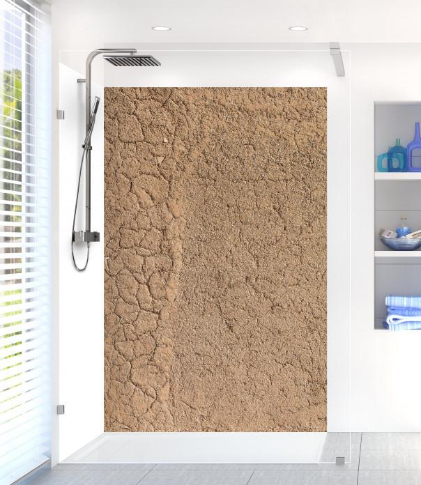 Panneau de douche Mur en terre