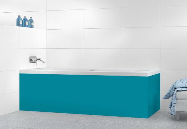 Panneau tablier de bain Bleu Canard