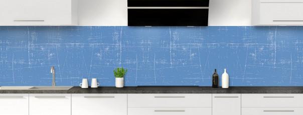 Crédence de cuisine Ardoise rayée couleur bleu lavande panoramique