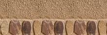 Crédence Mur en terre et pierres