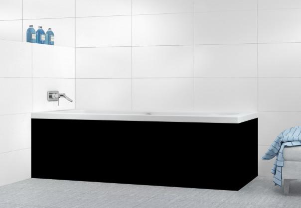 Panneau tablier de bain Noir Mat Ardoise