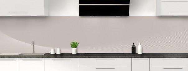 Crédence de cuisine Ombre et lumière couleur argile panoramique