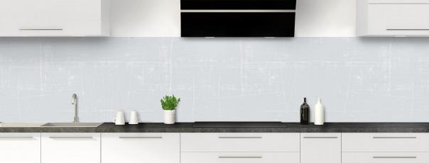 Crédence de cuisine Ardoise rayée couleur gris clair panoramique