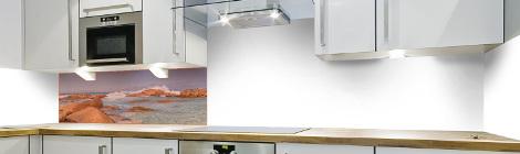 Pose d 39 une cr dence recouvrement ou frise en u c macredence cr dences de cuisine sur mesure - Pose d une credence cuisine ...