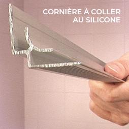 Cornière à coller au silicone